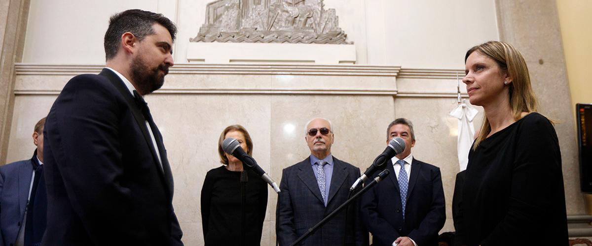 El Dr. Damián Natalio Ariel Corti juró como Asesor Tutelar