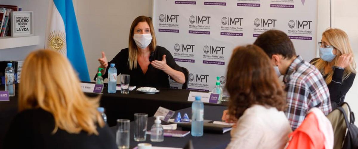 El MPT convocó a especialistas para dialogar sobre NNyA en aislamiento social obligatorio
