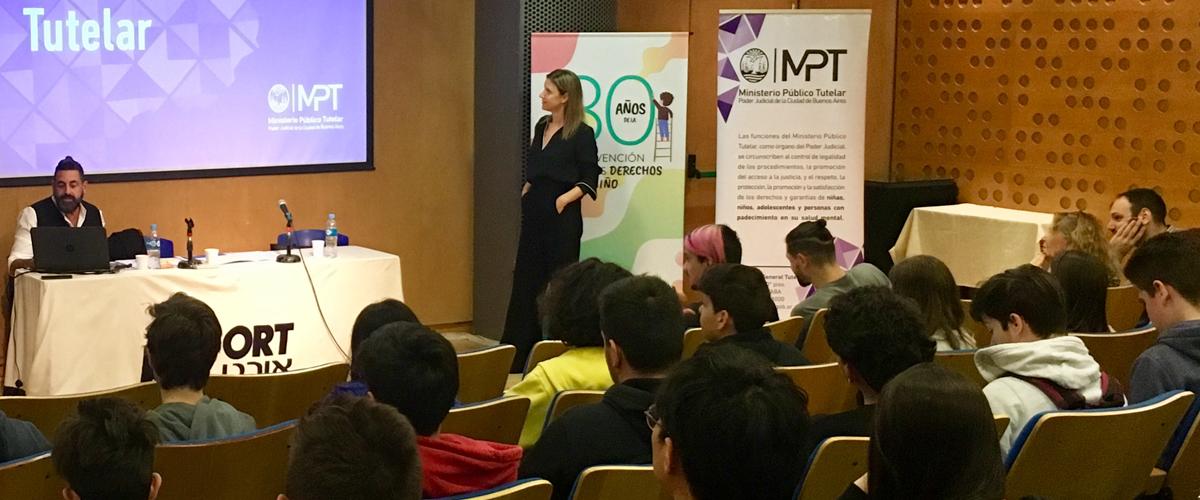 El MPT participó de la celebración por los 30 años de la Convención organizada por la escuela ORT