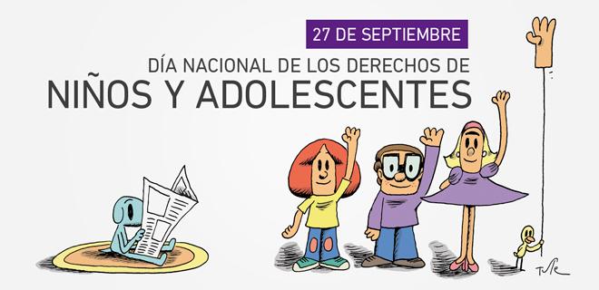 27 de septiembre - Día Nacional de los Derechos de Niños y Adolescentes