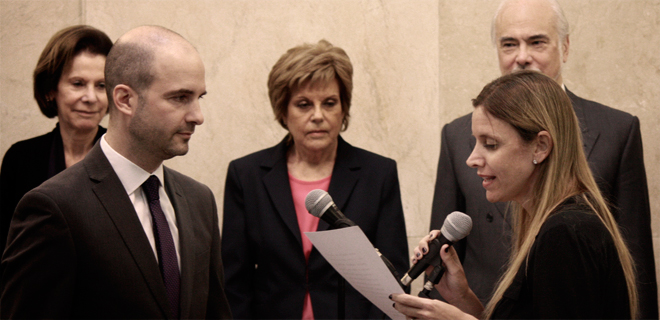 El Dr. Rodrigo Dellutri juró como Asesor Tutelar