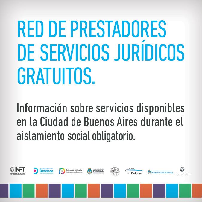 Red de Prestadores de Servicios Jurídicos Gratuitos de la CABA