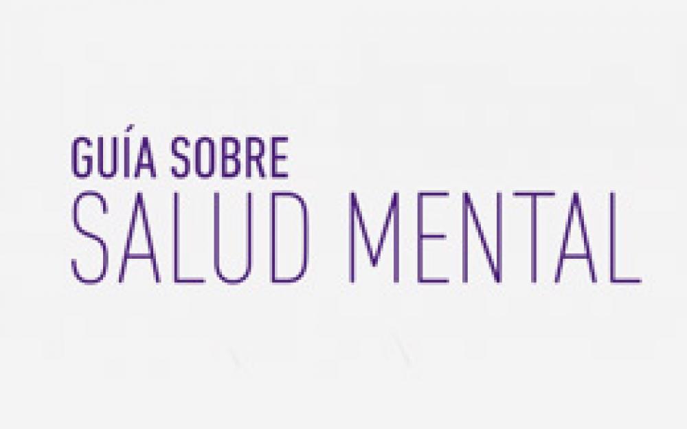 Guía sobre Salud Mental