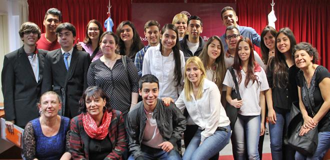 """El MPT participó de la jornada """"La Justicia y la Escuela"""""""